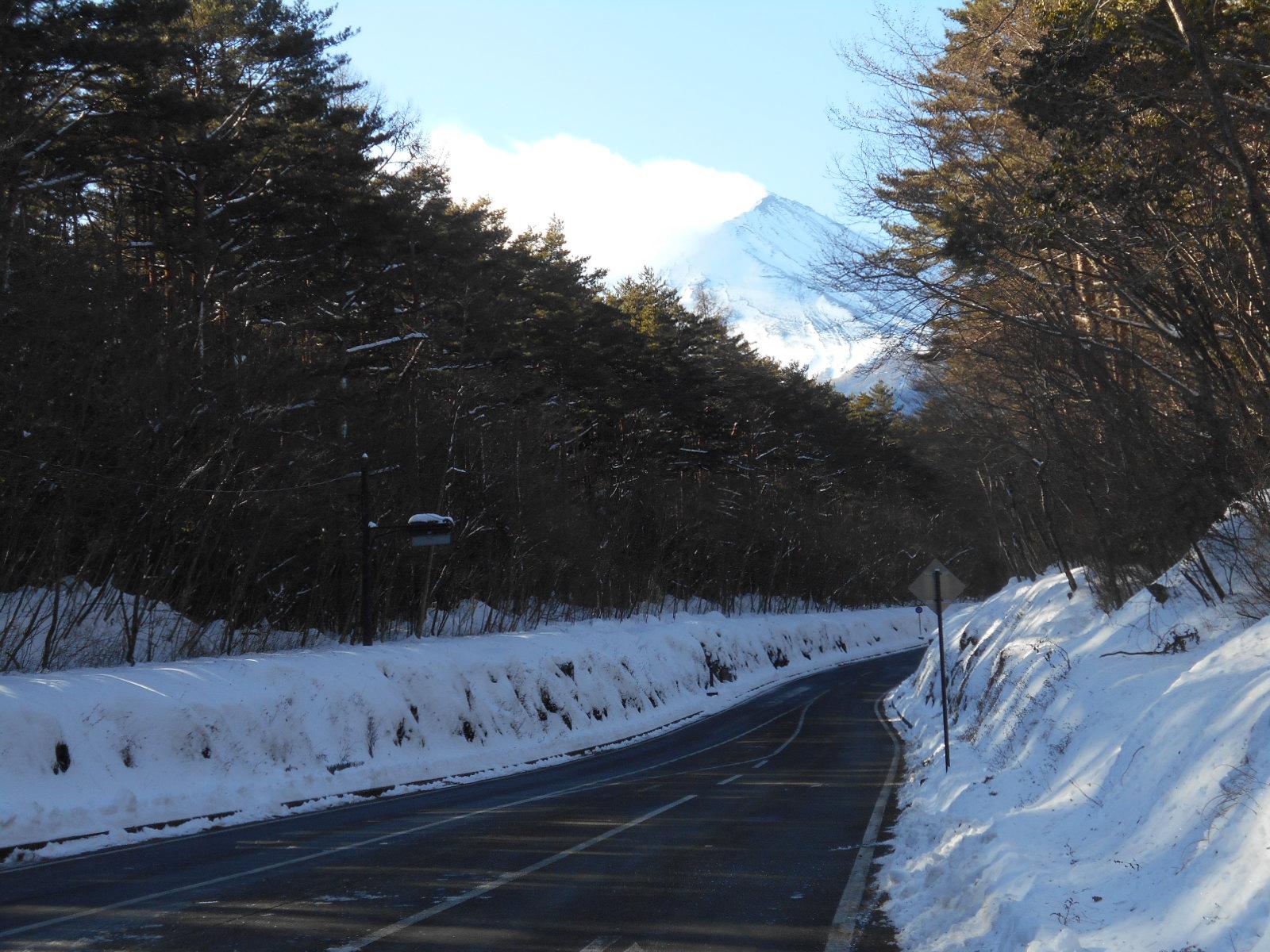 【最強寒波『富士山強風』】